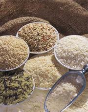 Фарш из риса с белыми грибами